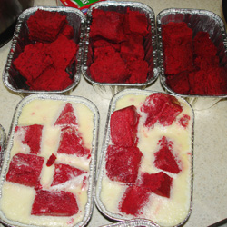 Red Velvet Pudding