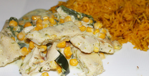Pollo en Rajas Recipe